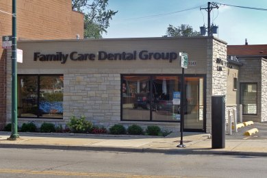 Family Care Dental Center, Chicago Commercial Construction. America's Custom Home Builders